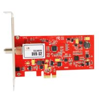 Tbs - 6922SE Carte tuner Tv Dvb-s2 Pci-e, successeur de la carte 6922, Carte Tuner Tv Numérique Satellite avec interface Pci-express