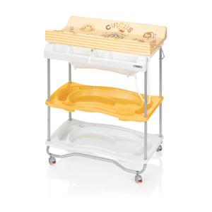 Brevi table langer b b atlantis jaune pas cher achat vente table langer rueducommerce - Table a langer brevi atlantis ...