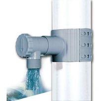 Interplast - Récupérateur d'eau de pluie Gris + scie