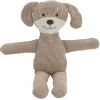 AMADEUS - Peluche chien malin tricot