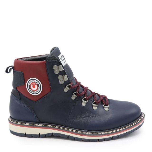 b50482d5e10 Pataugas - Boots Neo H4D Bleu Marine - pas cher Achat   Vente Boots homme -  RueDuCommerce
