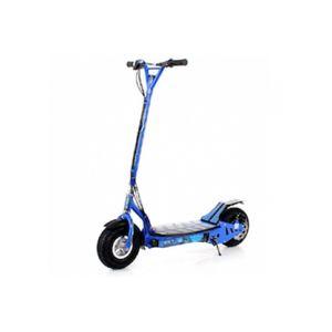 sxt scooter trotinnette lectrique sxt 300 w 20km h bleue batterie plomb pas cher achat. Black Bedroom Furniture Sets. Home Design Ideas