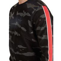 b918e969deea7 Sweat-shirt Homme imprimée camouflage