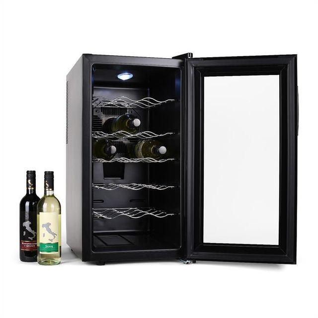 KLARSTEIN - Vivo Vino Cave à vins 18 bouteilles 52 L LED