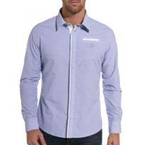 BLZ Jeans - Chemise bleue design