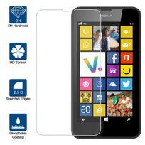 Cabling - Nokia Lumia 635 / 630 Première Qualité Film Protection d'écran en Verre Trempé - Dureté de verre 9H - 0,33mm d'épaisseur - Transparence Hd - Bords arrondis 2,5D - Antichoc - Enduit lipophobe - Toucher délicat - Verre haute qualité - Facil