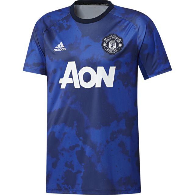 Maillot Pré Match adidas Manchester United 201920 Domicile