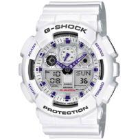 Casio - Montre homme o? femme Reloj G-shock Balnco Ga-100A-7AER
