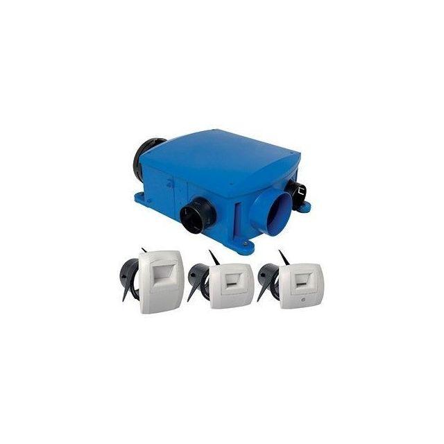 Aldes Kit Vmc Bahia Compact Hygro B Simple Flux Hygroreglable 11033158 Pas Cher Achat Vente Vmc Ventilation Rueducommerce
