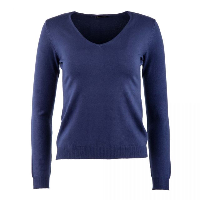 Real Cashmere - Pull laine cachemire col V femme - pas cher Achat   Vente Pulls  femme - RueDuCommerce fdbc890b3add