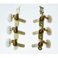 Alice - 6 Mécaniques Dorées pour Guitare Classique 4/4 et 3/4