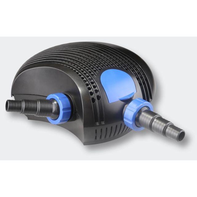 Helloshop26 Pompe à eau de bassin filtre filtration cours d'eau eco 12000l/h 100 Watts 4216042