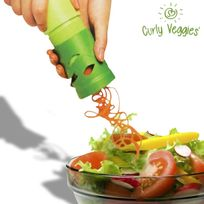 Totalcadeau - Eplucheur de légumes à vague curly veggies