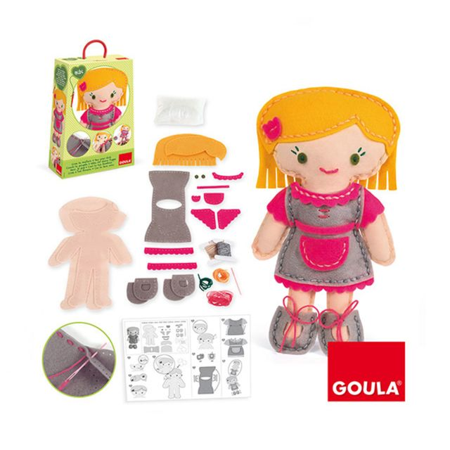 Goula Kit de couture : Couds ta poupée : Bibi