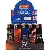 Adnauto - 50 Briquets electroniques Route 66 921649