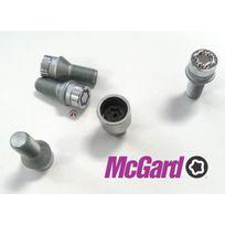 McGard - 4 vis antivol Chrome 14x15/ Long 41mm/ Douille 17mm