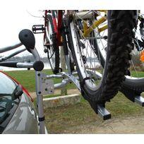 Porte-vélos Arrière avec Fiaxtion sur Coffre - Hayon Porte-vélos spécialement conçu pour les véhicules à hayon et à coffre Porte-vélos permettant de laisser la plaque d'immatriculation et les feux visibles Il permet de transporter 2 vélos Char
