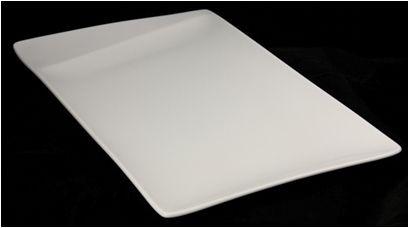 Lebrun Assiette plate 34.5X20.5CM Cube