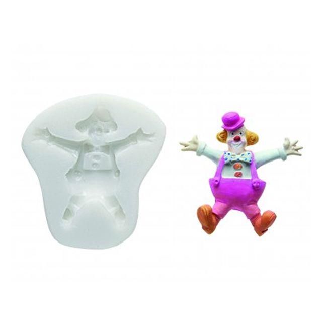silikomart moule clown pour p te sucre pas cher achat vente ustensile. Black Bedroom Furniture Sets. Home Design Ideas