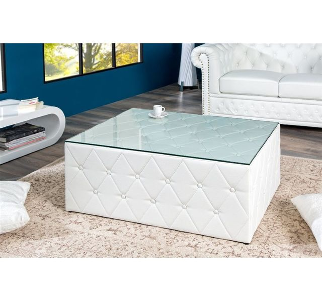 CHLOE DESIGN Table basse design CHESTER - Blanc