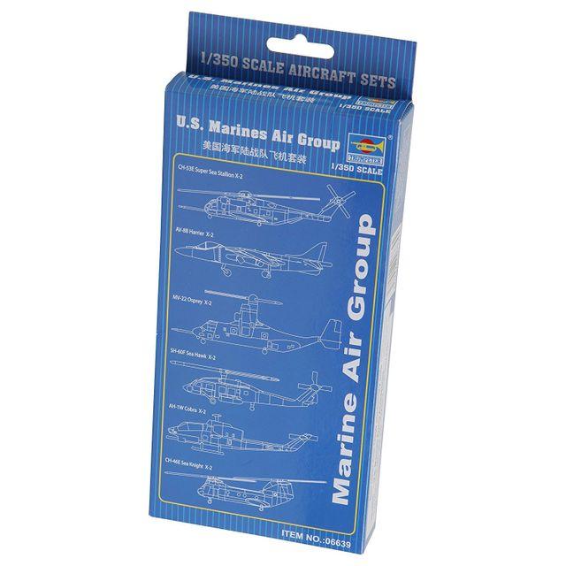 Trumpeter Set avion et hélicoptère : U.S. Marines Air Group