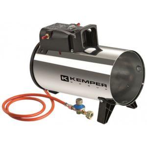 Kemper - Générateur d'air chaud à gaz 10 Kw Radiateur soufflant à gaz tuyau et détendeur