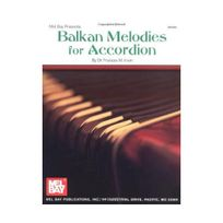 Melbay - Balkan Melodies For Accordion