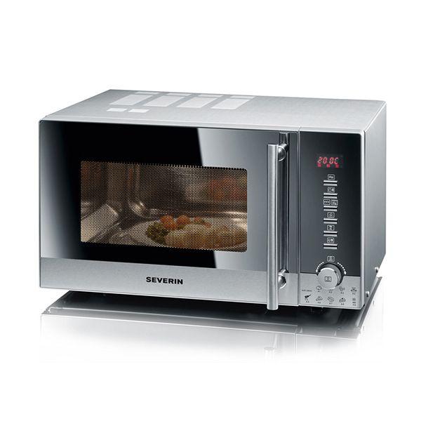 SEVERIN micro-ondes grill et air chaud 25l 900w - mw7871