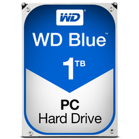 WESTERN DIGITAL - Disque dur interne 3,5'' - 1 To 1000 Go 64 Mo - SATA III 6 Gb/s 5400 RPM