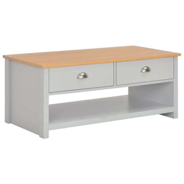 Vidaxl Table Basse 100x50x42 cm Table d'Appoint Bout de Canapé Salon Maison