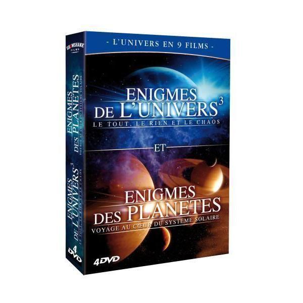 Showshank Films Enigmes de l'Univers et des planètes Coffret 4 Dvd