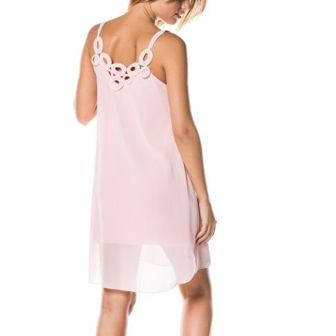 11ba13a408315 Princesse Boutique - Robe fluide Rose dos à ronds - pas cher Achat ...