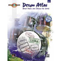 Alfred Publishing - Partitions Variété, Pop, Rock. Drum Atlas Complete V1 + Cd - Drums & Percussion Drums