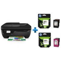 OfficeJet 3831 multifonction 4 en 1 + Cartouche d'encre 3 couleurs + Cartouche d'encre Noir