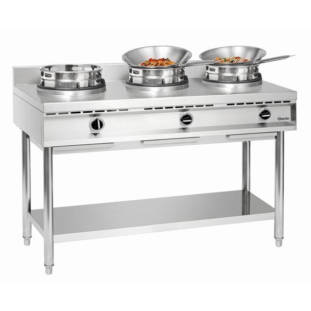 Bartscher Cuisiniere a wok a gaz Gwh3
