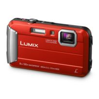 PANASONIC - Appareil photo compact - Lumix FT30 rouge