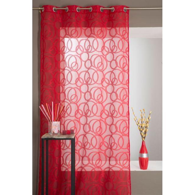 rideaudiscount rideau voilage grande hauteur 135 x 280. Black Bedroom Furniture Sets. Home Design Ideas