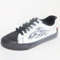 Vision Streetwear - Shoes Vintage Vision Street Wear Borneo White Cuir