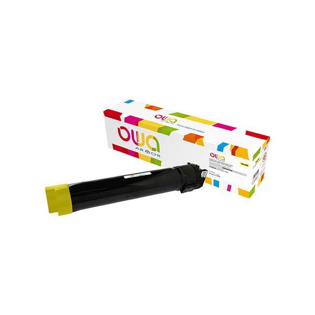 Toner Armor Owa compatible Lexmark X950X2YG jaune pour imprimante laser