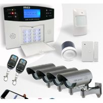 EMATRONIC - Alarme maison sans fil Pack sécurité Zen Alarme Al01