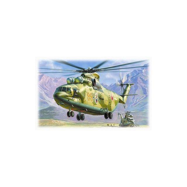 Zvezda Maquette hélicoptère : Mil Mi-26 Soviet Heavy Helicopter Halo