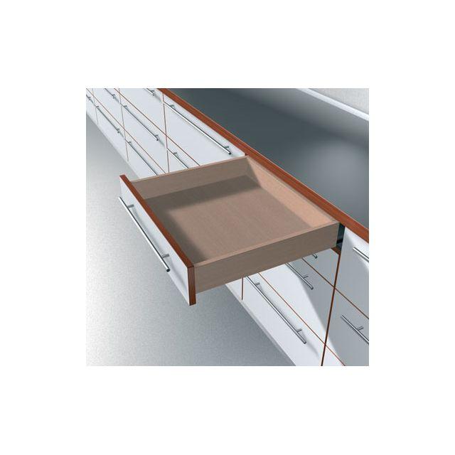 blum coulisse invisible pour tiroir bois sortie totale charge 50 kg avec amortisseur. Black Bedroom Furniture Sets. Home Design Ideas