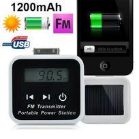 Yonis - Batterie solaire iPhone 3 3G 3GS 4 4S transmetteur Fm