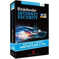 BitDefender - Internet Security - édition limitée - licence à vie 1 poste