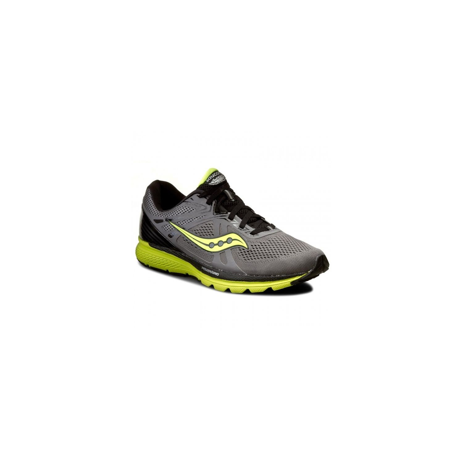 Saucony - Swerve Grise Et Jaune Chaussures running - pas cher Achat / Vente Chaussures running