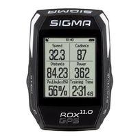 Sigmasport - Sigma Compteur Rox 11.0 Gps