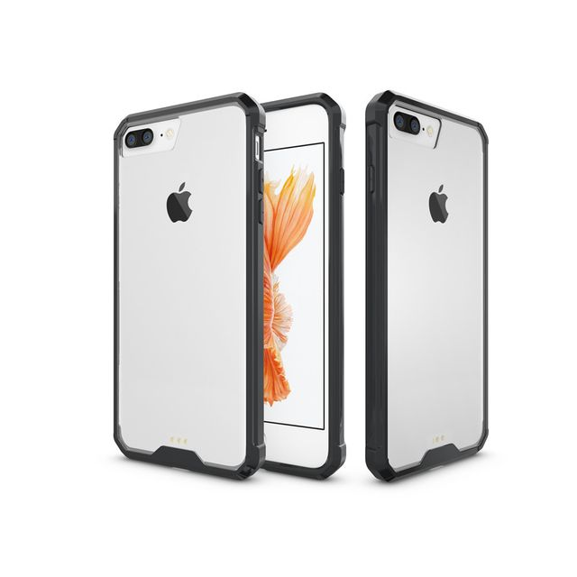 coque iphone 8 plus contour couleur