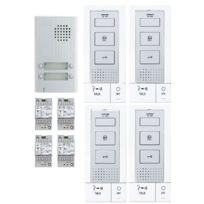 AIPHONE - Interphone audio filaire 4 combinés main libre DB4INT-118717