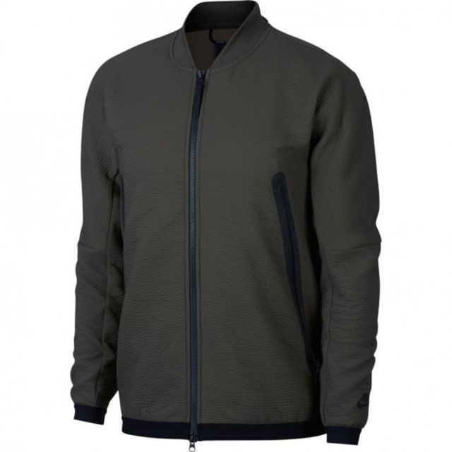Nike Sportswear Homme Tech Polaire à col cheminée Pull Over
