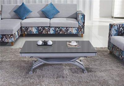Giovanni table basse relevable zen gris